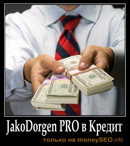 Купить JakoDorgen PRO от moneySEO в Кредит