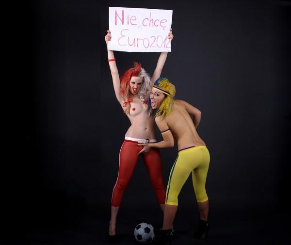 Блядек и Блядко - талисман Евро-2012