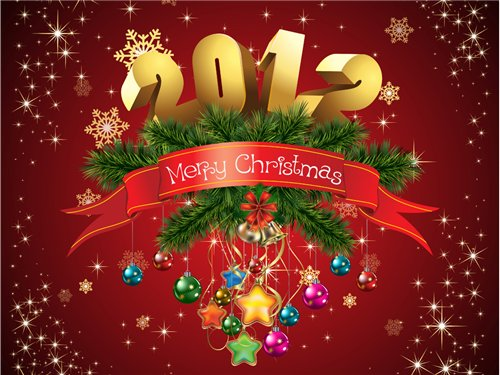 Всех с Рождеством, Новый Годом, еще раз Рождеством и Старым Новым годом.