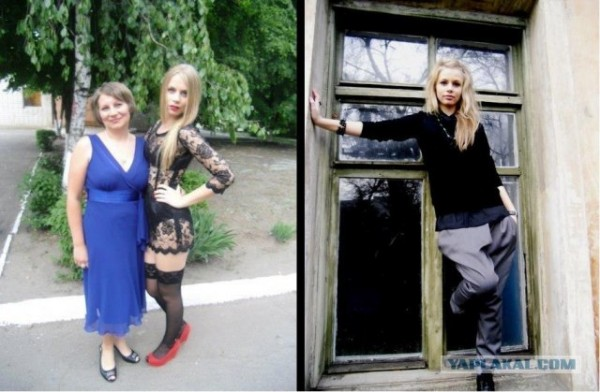 Скандальная выпускница Настя Фоменко из Павлограда (Анастасия Фоменко - Фото)
