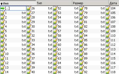 Допустим у вас есть папка в которой множество txt файлов и в каждом файле куча строк