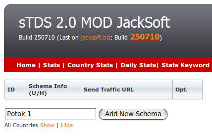Add New Schema sTDS 2.0 MOD JackSoft