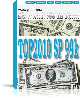 База ключевиков под StimulProfit - TOP2010 SP 99k