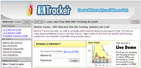 MV Tracker