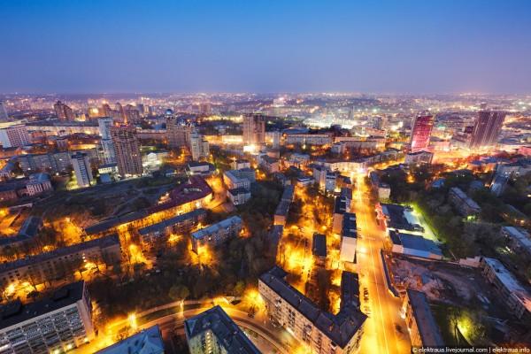 Фото рассвета в Киеве. Ночной Киев (Фото).