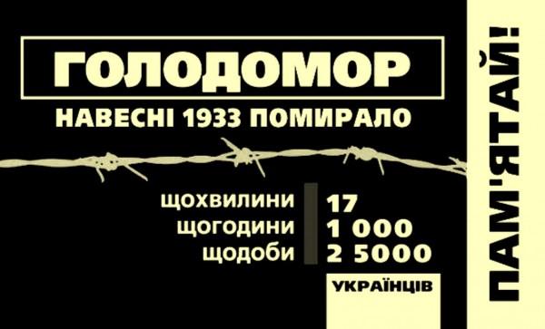 Сегодня Украина отмечает День памяти жертв Голодомора