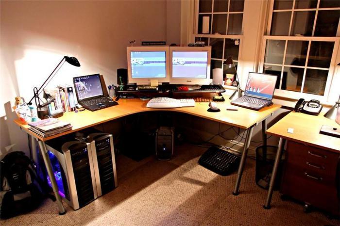 место работы и рабочее место